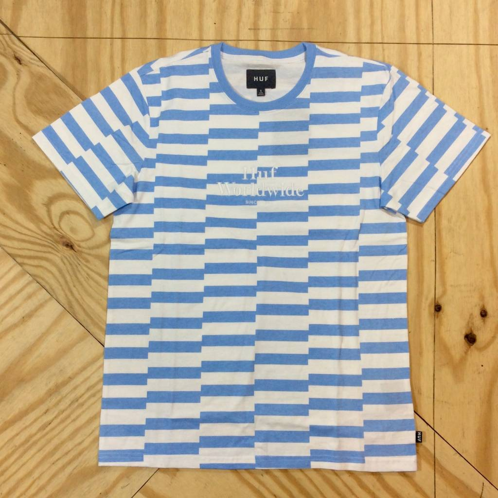 HUF Off Set T-Shirt Light Blue