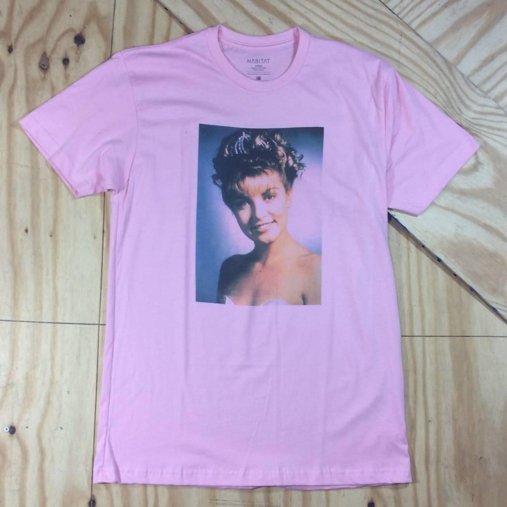 HABITAT SKATEBOARDS Laura Palmer T-Shirt Light Pink