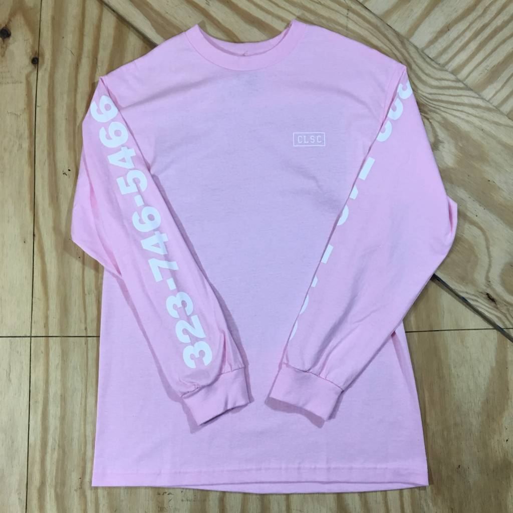 CLSC Jessica LS T-Shirt Pink