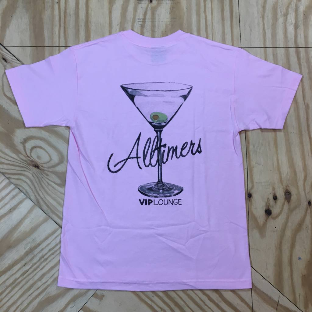 ALLTIMERS Watercolor League Player T-Shirt Pink