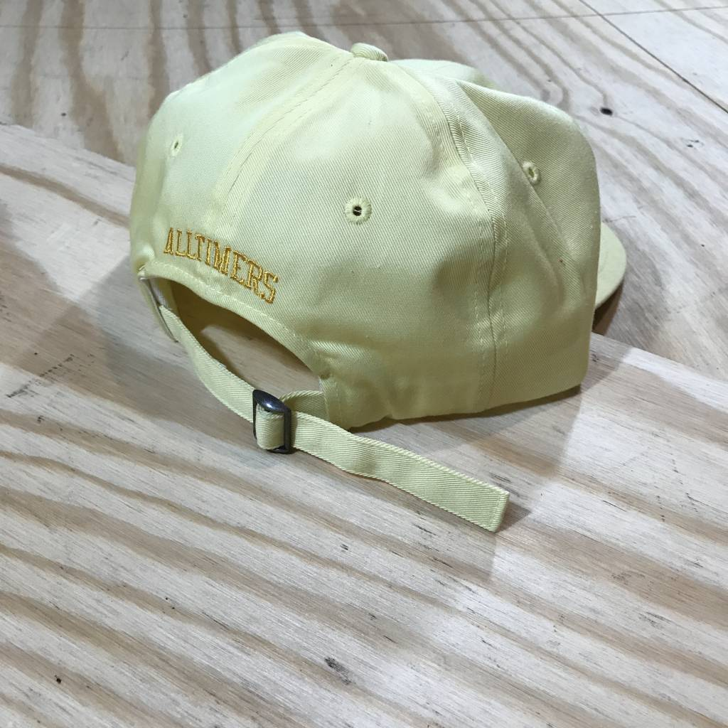 ALLTIMERS League Player Hat Yellow