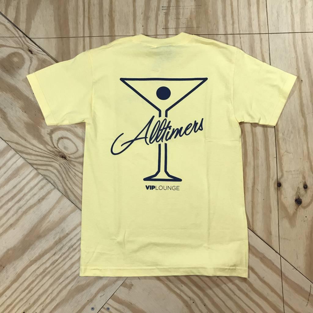 ALLTIMERS League Player T-Shirt Yellow