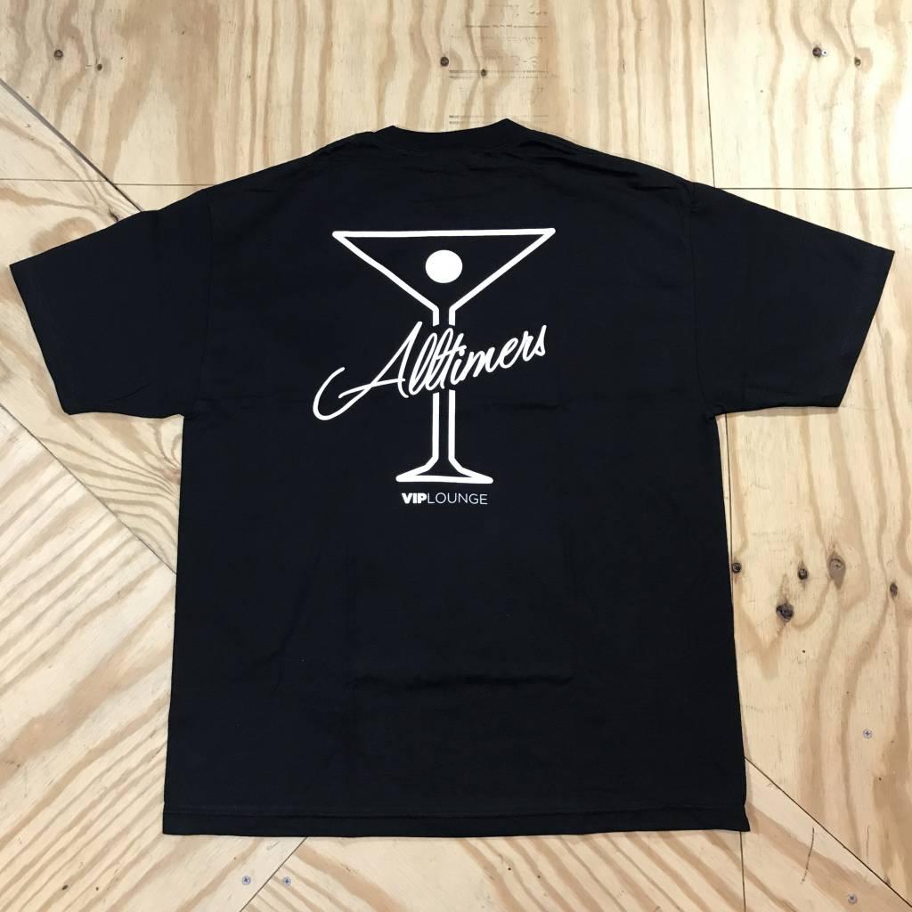 ALLTIMERS League Player T-Shirt Black