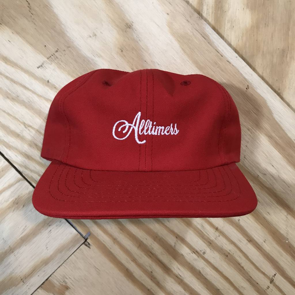 ALLTIMERS Alltimers Logo Hat Red