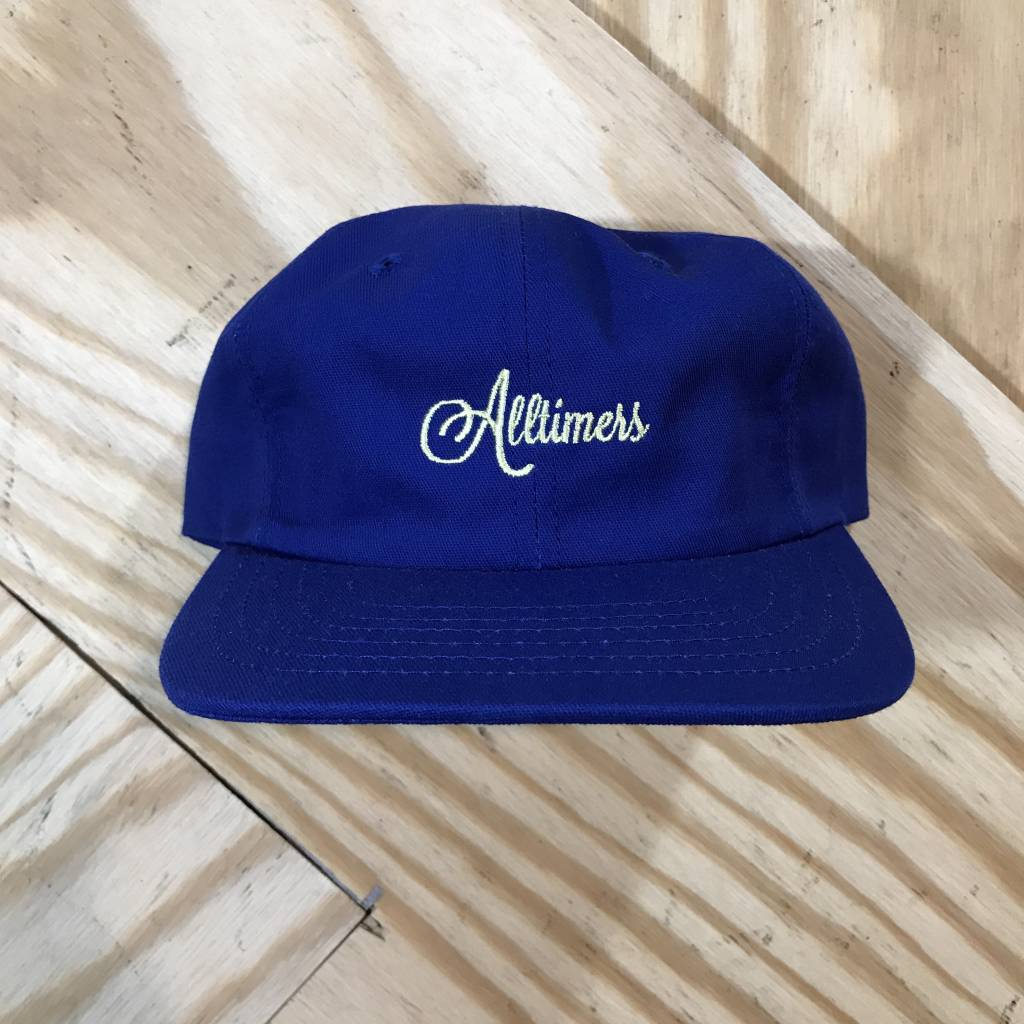 ALLTIMERS Alltimers Logo Hat Blue