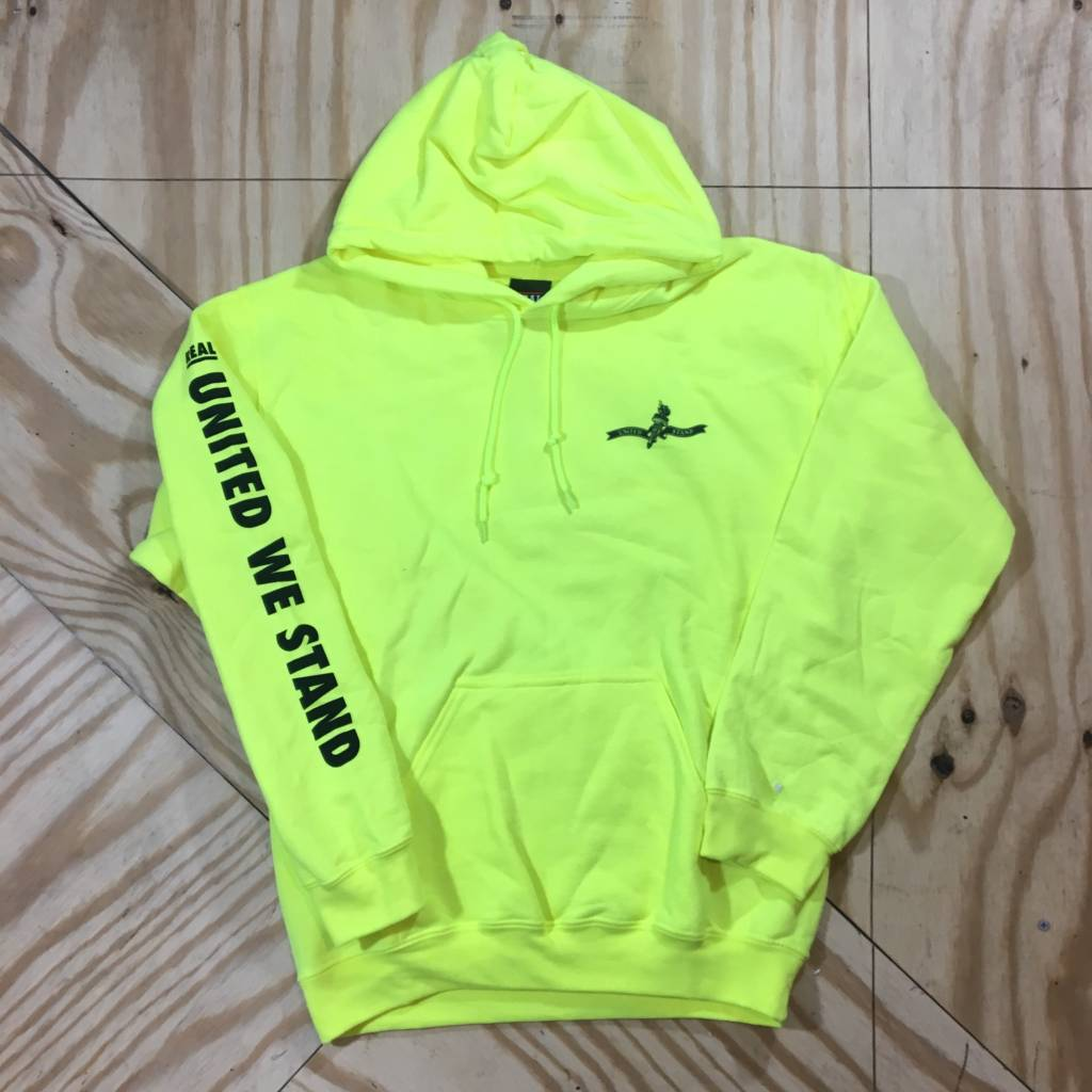 DELUXE Real United We Stand Hoody Yellow