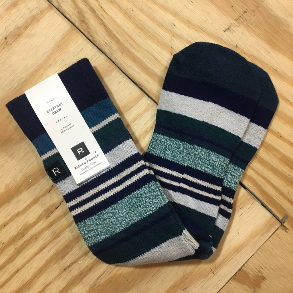RICHER POORER Warner Sock Navy