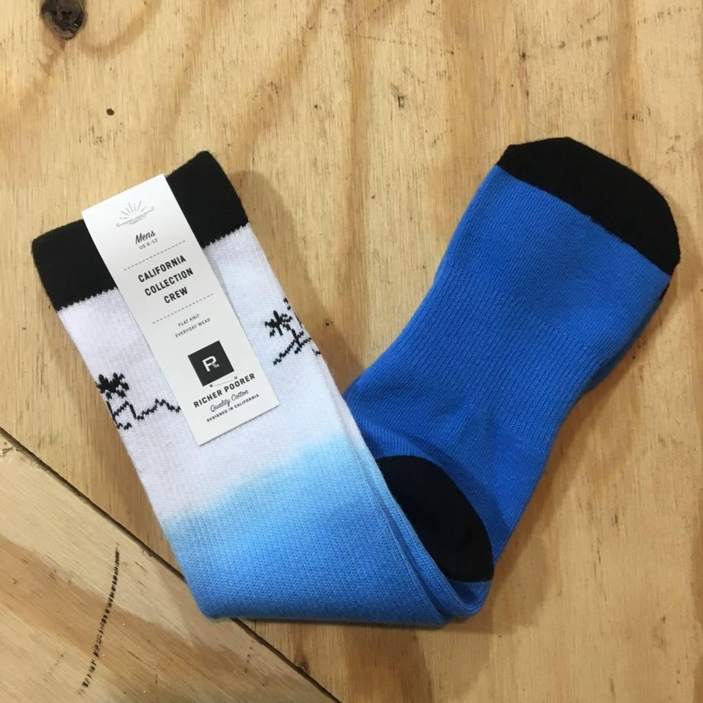 RICHER POORER Shaka Athletic Sock White / Blue