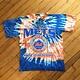 2ND BASE VINTAGE New York Mets T-Shirt Tie Dye LG