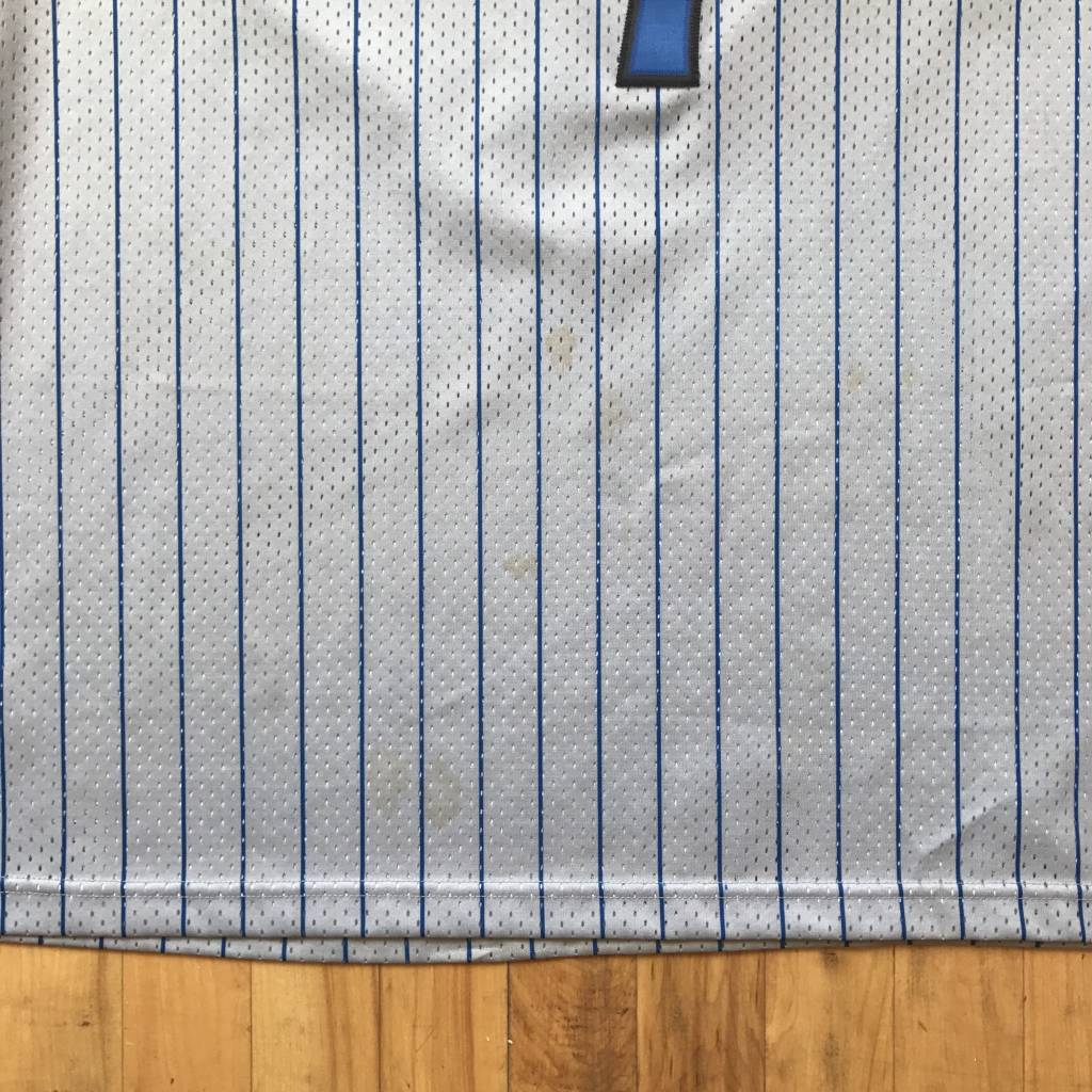 2ND BASE VINTAGE Orlando Magic Tracy McGrady Jersey Grey/ Blue 2X