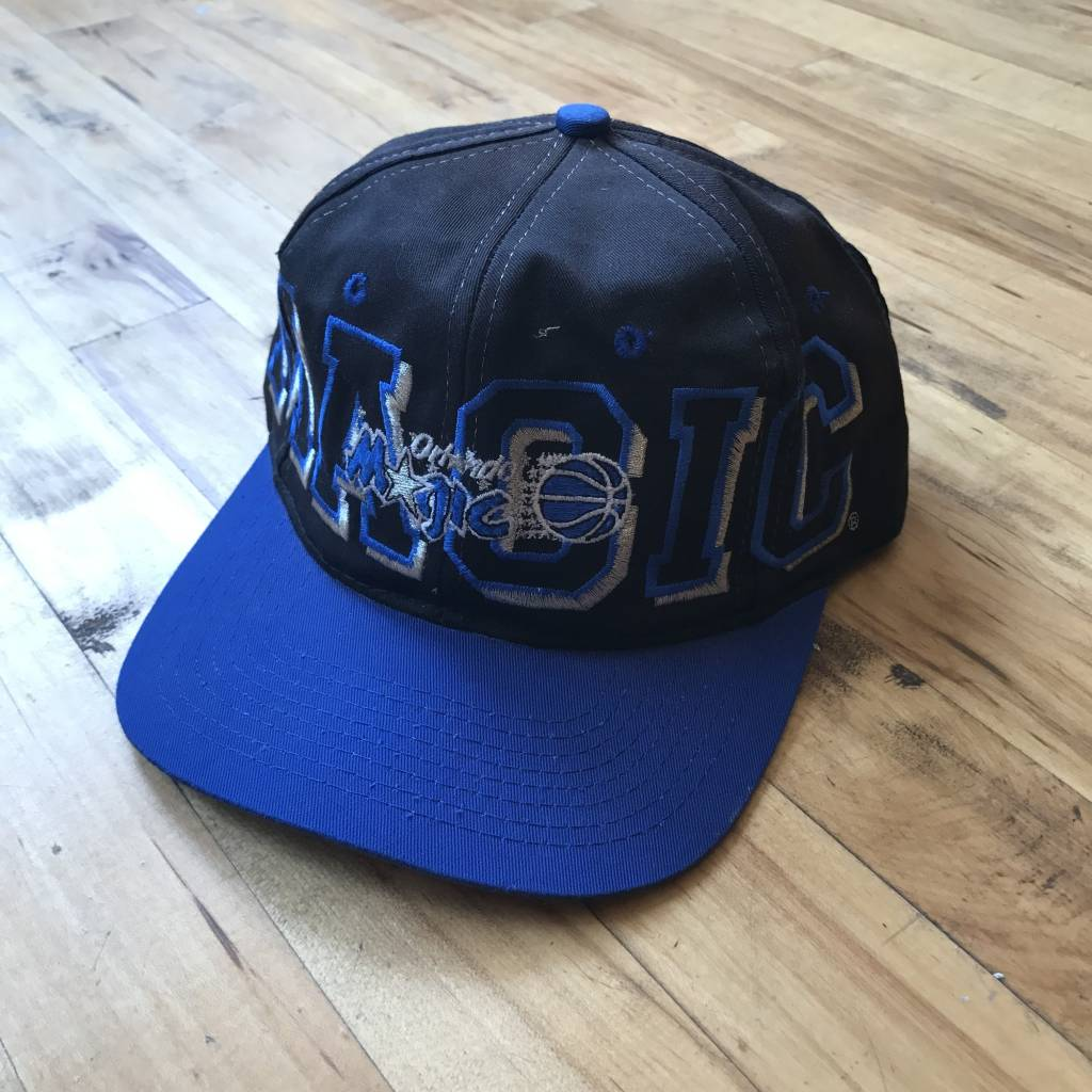 2ND BASE VINTAGE Orlando Magic Spell Out Snapback Hat