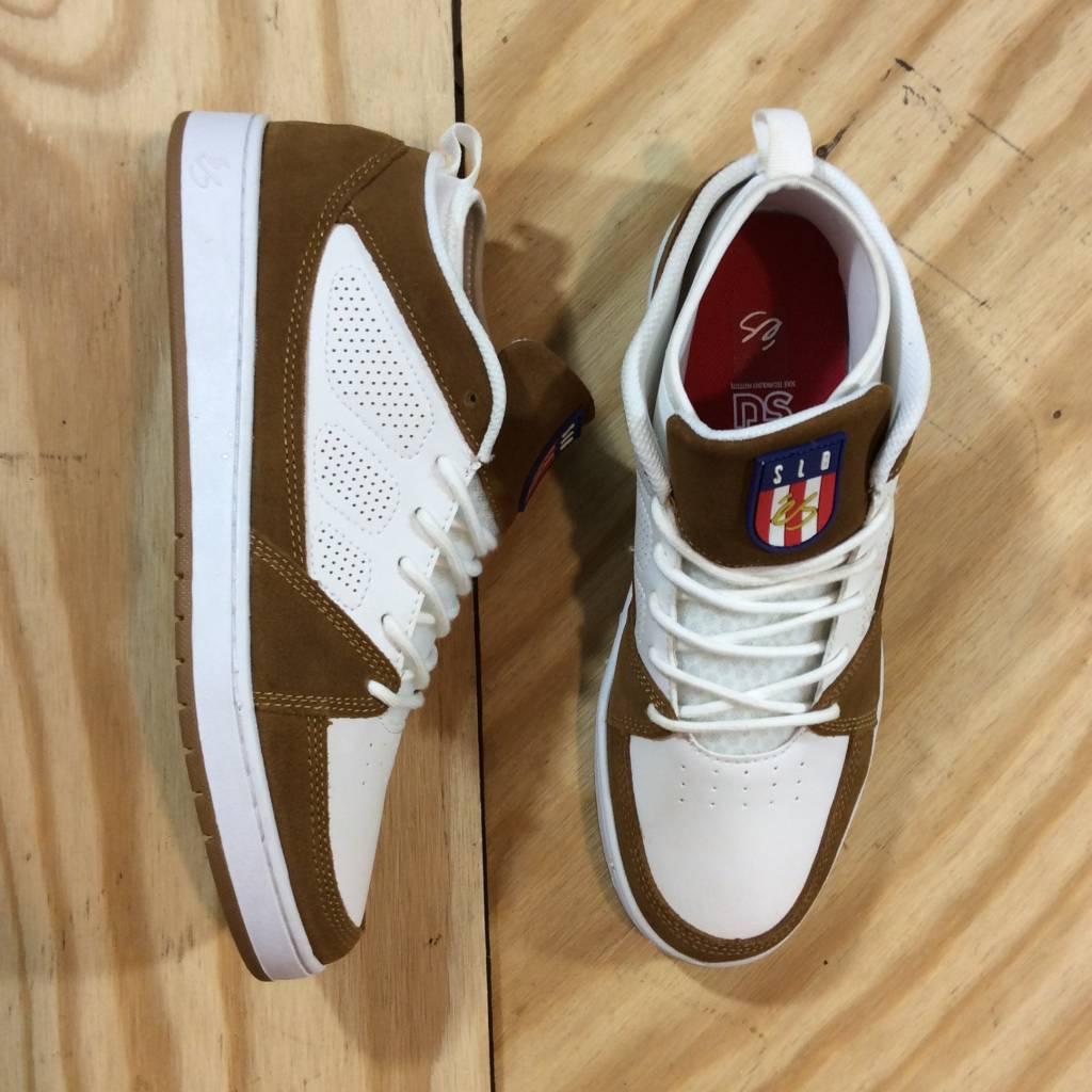 ES FOOTWEAR SLB Mid Shoe White / Tan