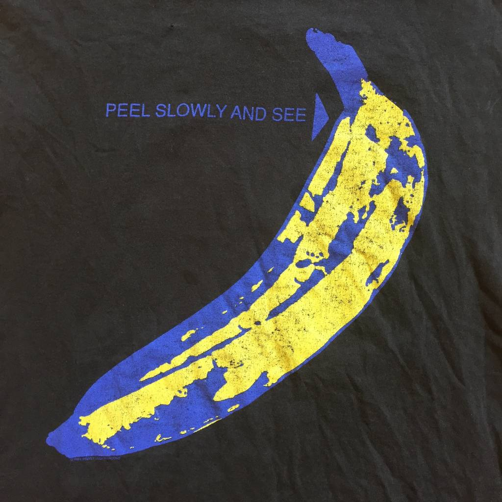 2ND BASE VINTAGE Vintage The Velvet Underground Andy Warhol Cutt-Of Tank Top XL