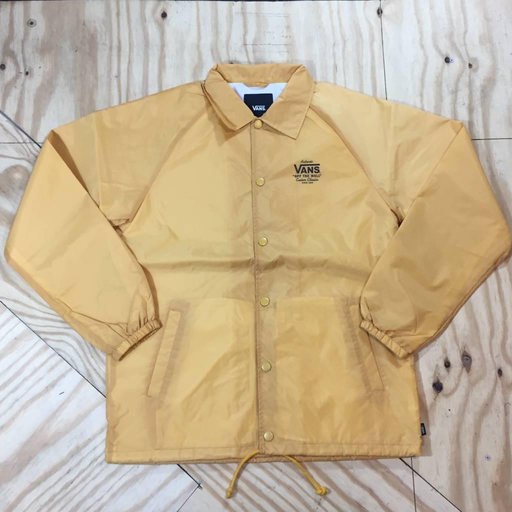 VANS Torrey Windbreaker Jacket Yellow