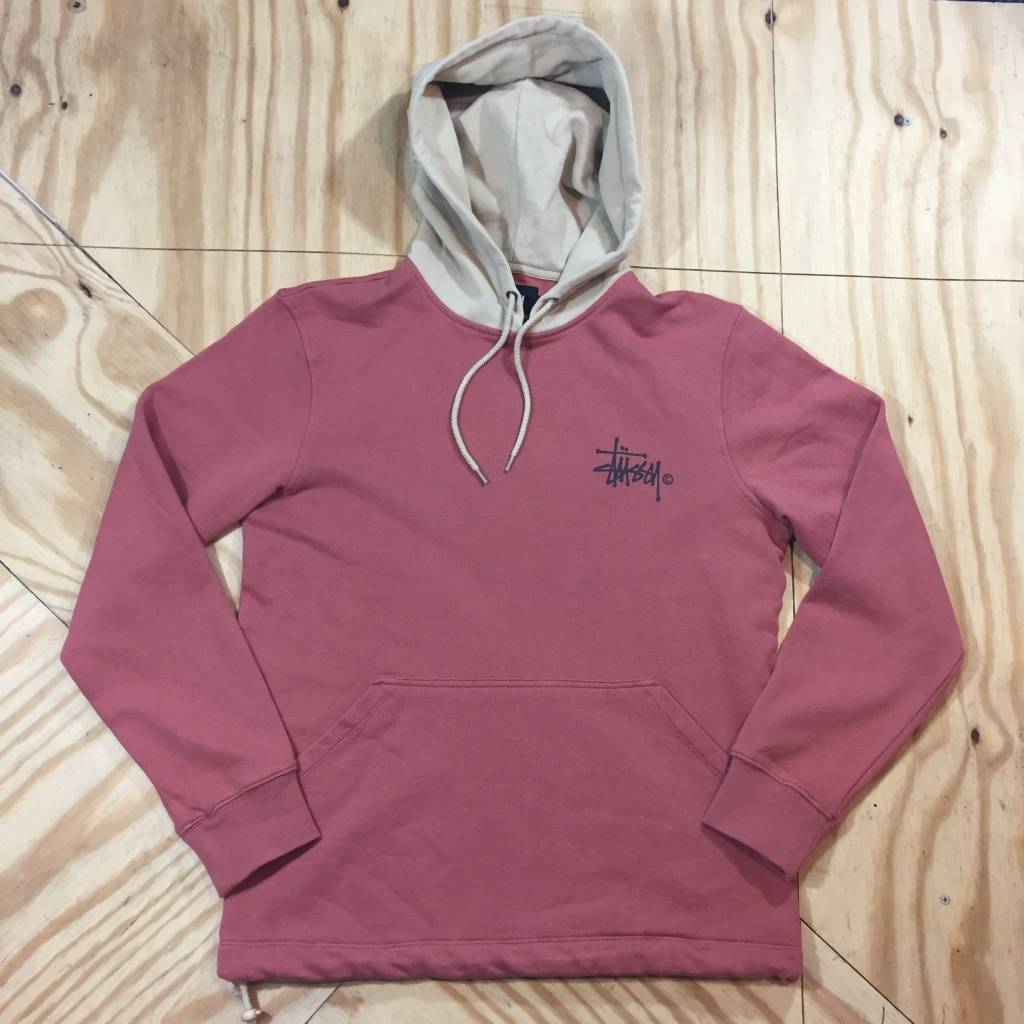 STUSSY Stussy Two Tone Hoody Brick Red