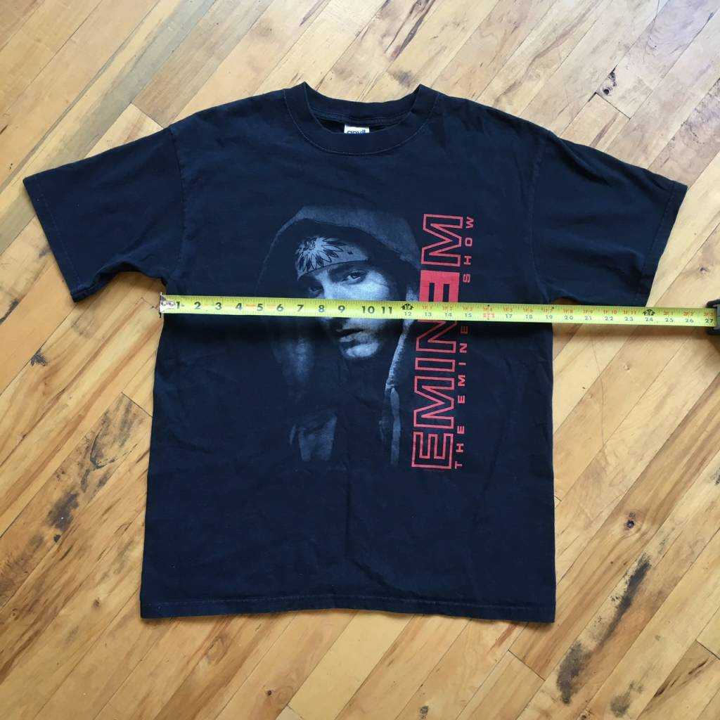 2ND BASE VINTAGE The Eminem Show Tour T-Shirt from 2002