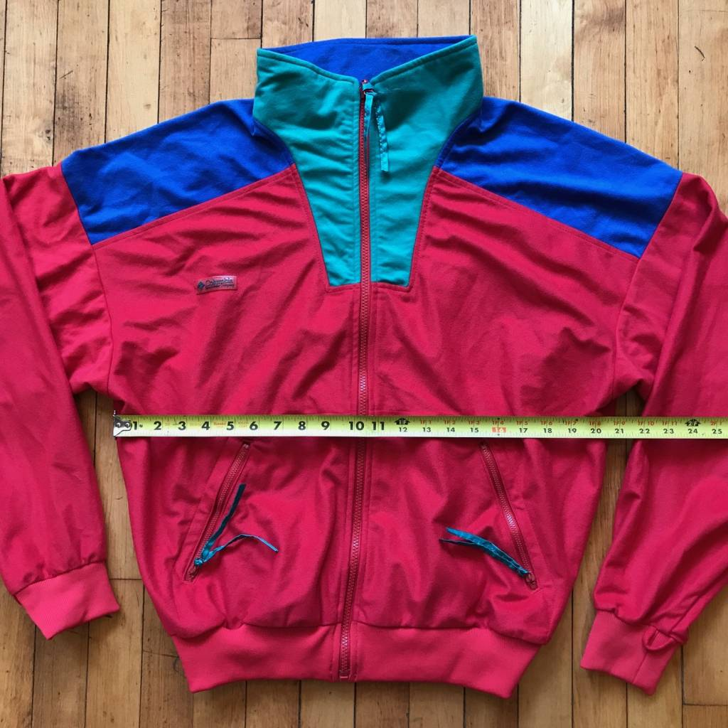 2ND BASE VINTAGE Vintage Columbia Colorblocked Track Jacket