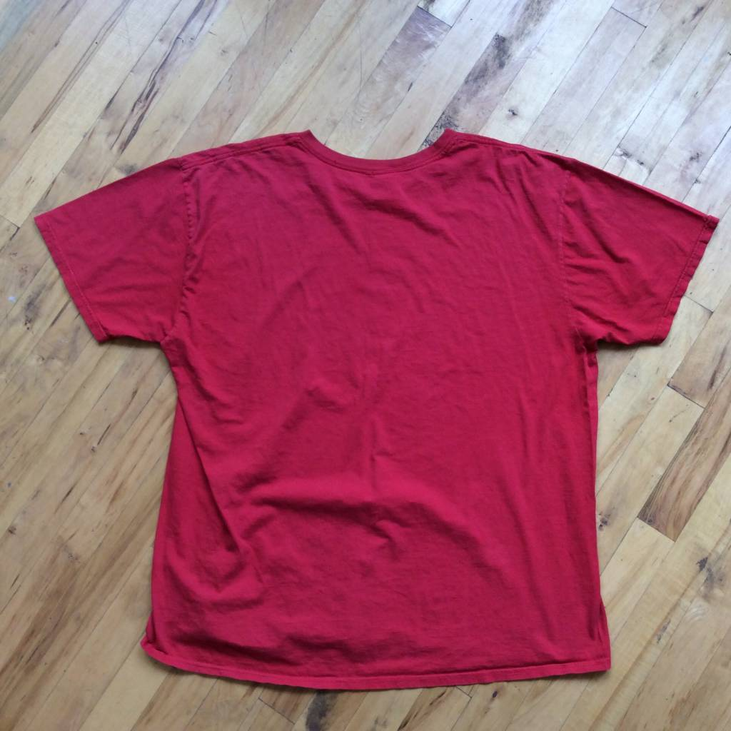"""2ND BASE VINTAGE """"The Perfect Way To Let People Know You Party"""" T-Shirt XL"""