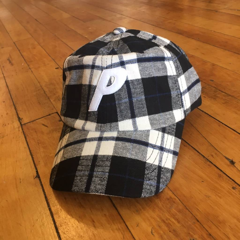 2ND BASE VINTAGE Palace Skateboards FW17 Flannel 6-Pannel Hat. Deadstock