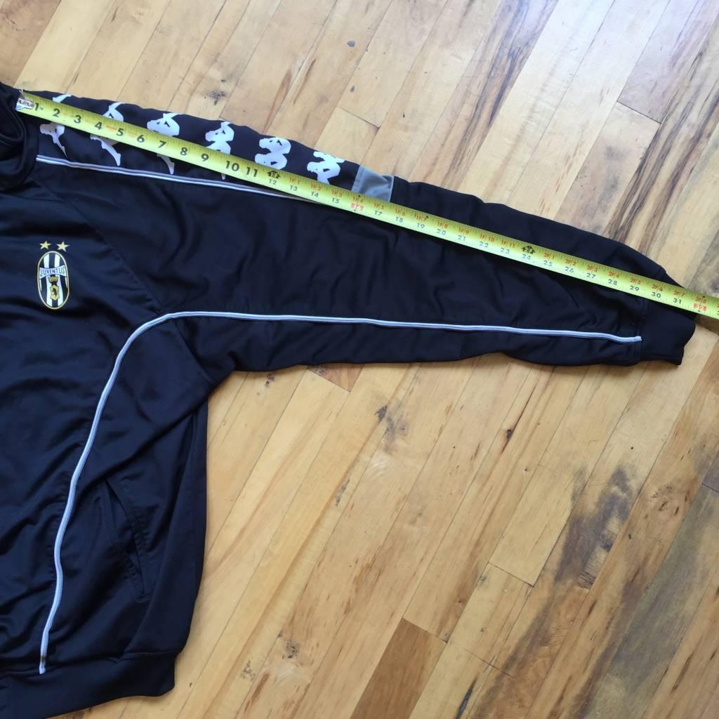 2ND BASE VINTAGE Kappa Juventus Full Zip Warm Up Jacket XL