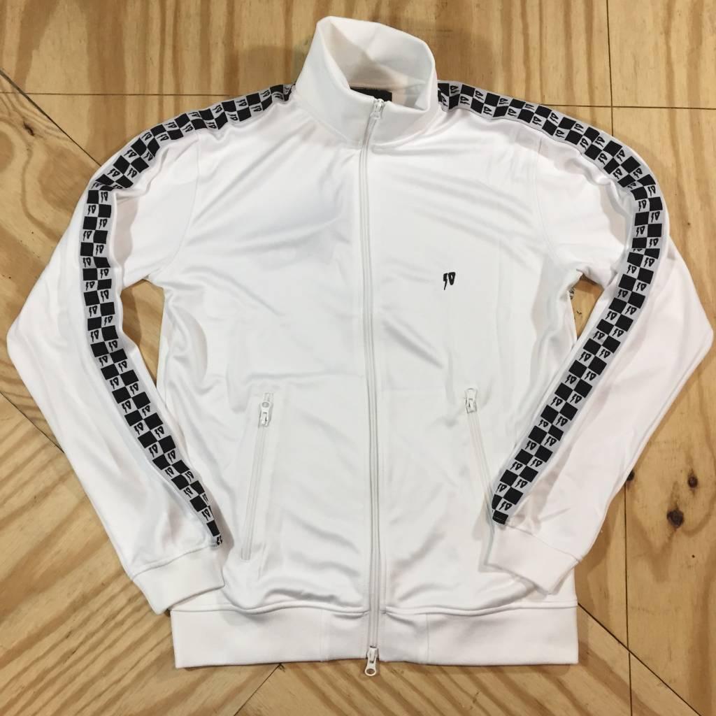 10 DEEP Checkered Flag Track Jacket White