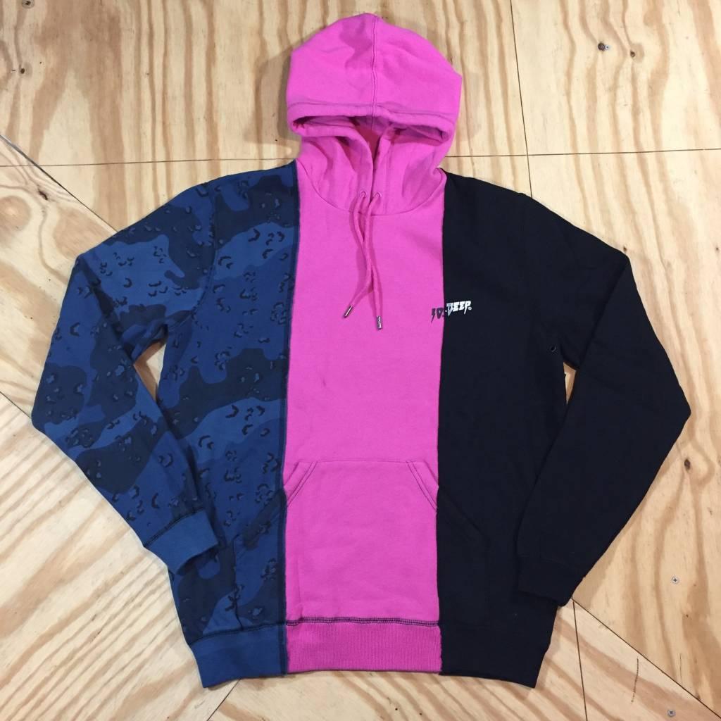 10 DEEP Venetian Hoody Blue Camo / Pink / Black
