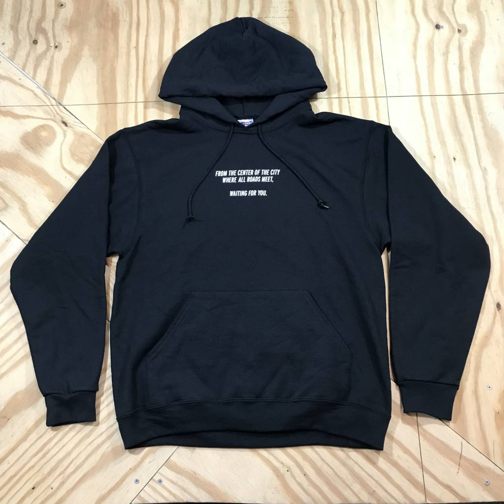 HOMEBASE SOFTGOODS 610 Division Pullover Hoody Black