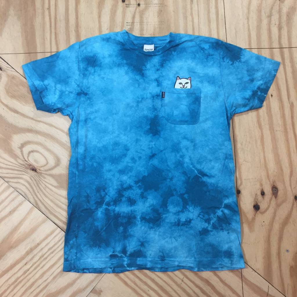 RIP-N-DIP Lord Nermal Pocket T-Shirt Washed Teal