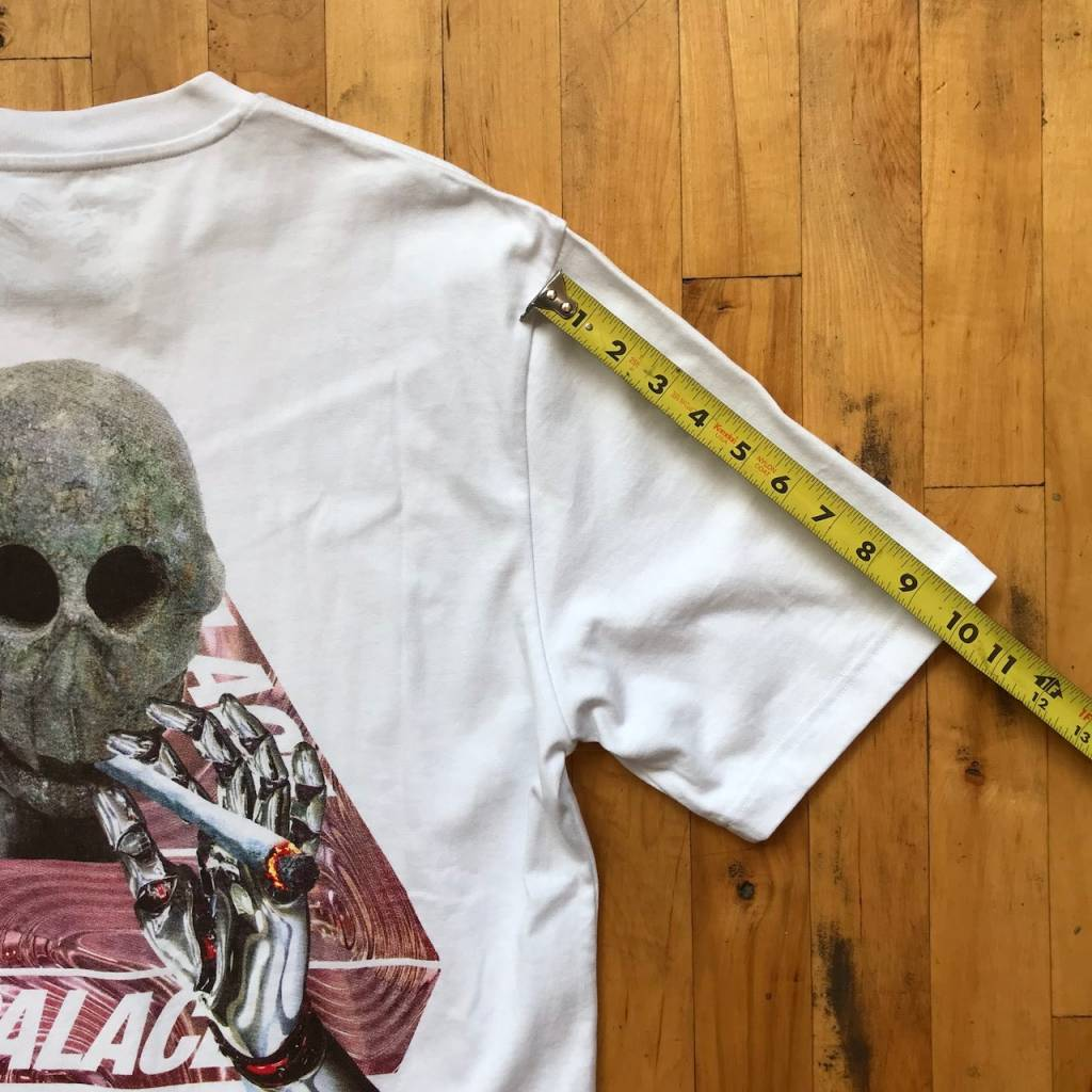 2ND BASE VINTAGE Palace Skateboards Skeledon T-Shirt LG