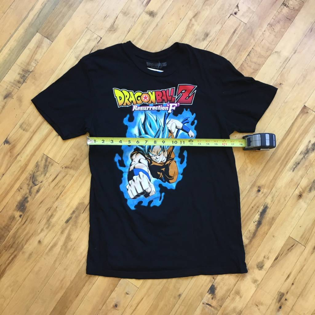 2ND BASE VINTAGE Dragonball Z Resurrection-F Super Saiyan Goku T-Shirt MD