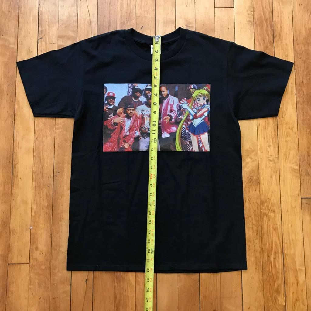 2ND BASE VINTAGE Dipset x Sailor Moon T-Shirt MD