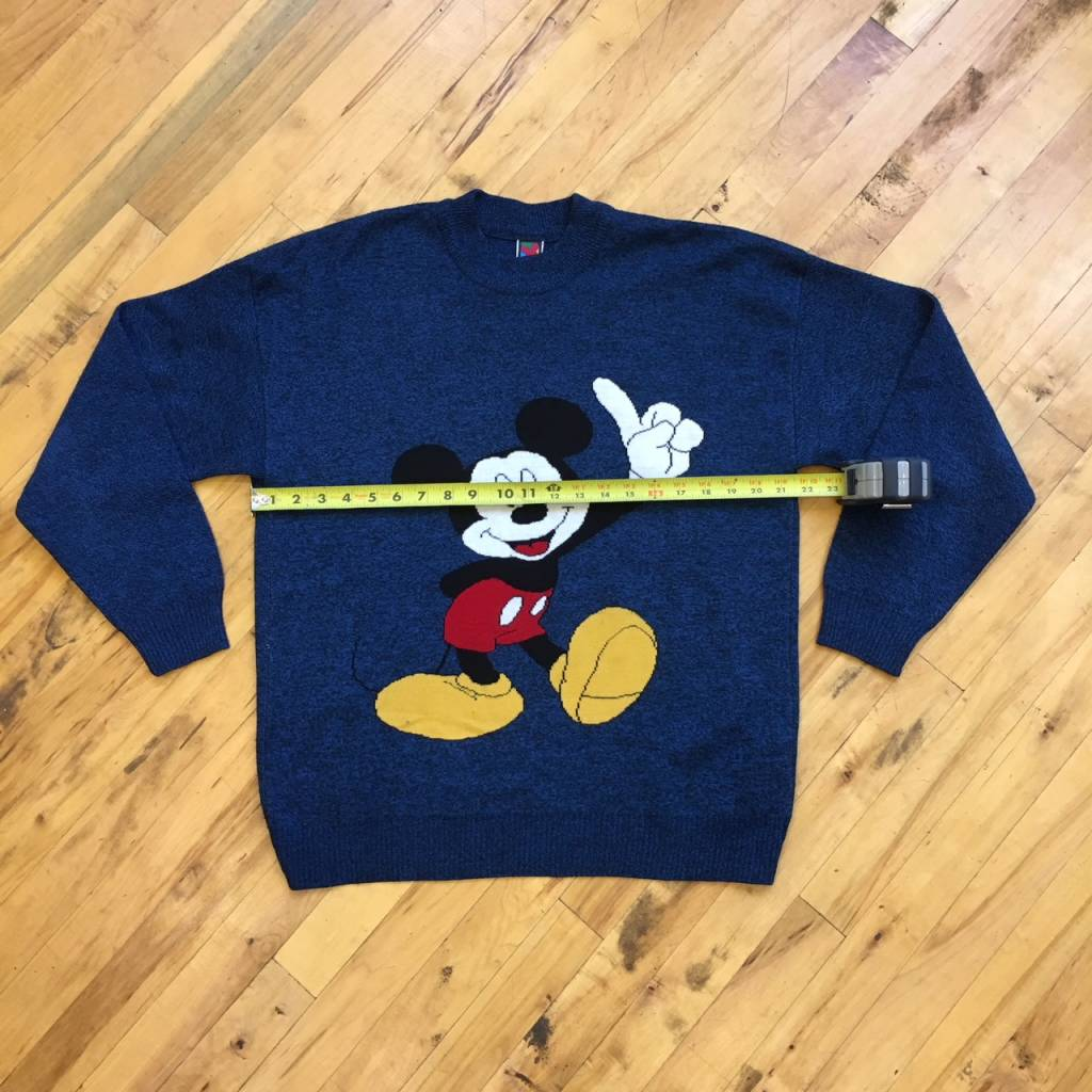 2ND BASE VINTAGE Vintage Mickey Unlimited Knit Sweater MD/ LG