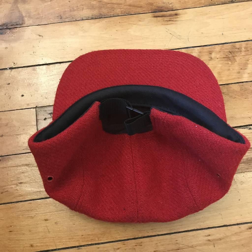 2ND BASE VINTAGE Supreme x Harris Tweed Box Logo 5-Panel Hat In Red OS