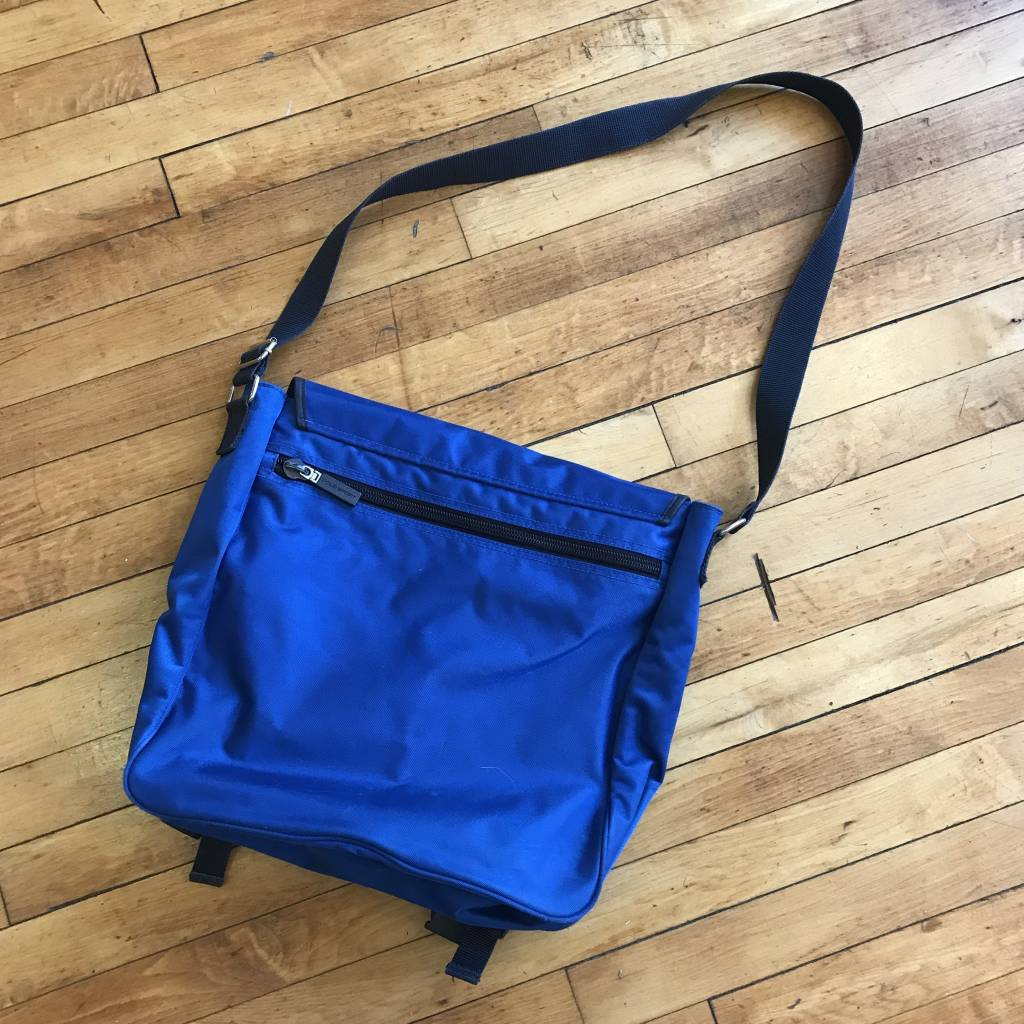 2ND BASE VINTAGE Polo Sport Messanger Cross Body Bag OS