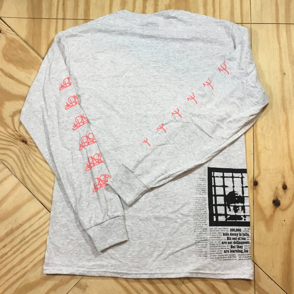 HOMEBASE SOFTGOODS HB Delinquents LS T-shirt Grey