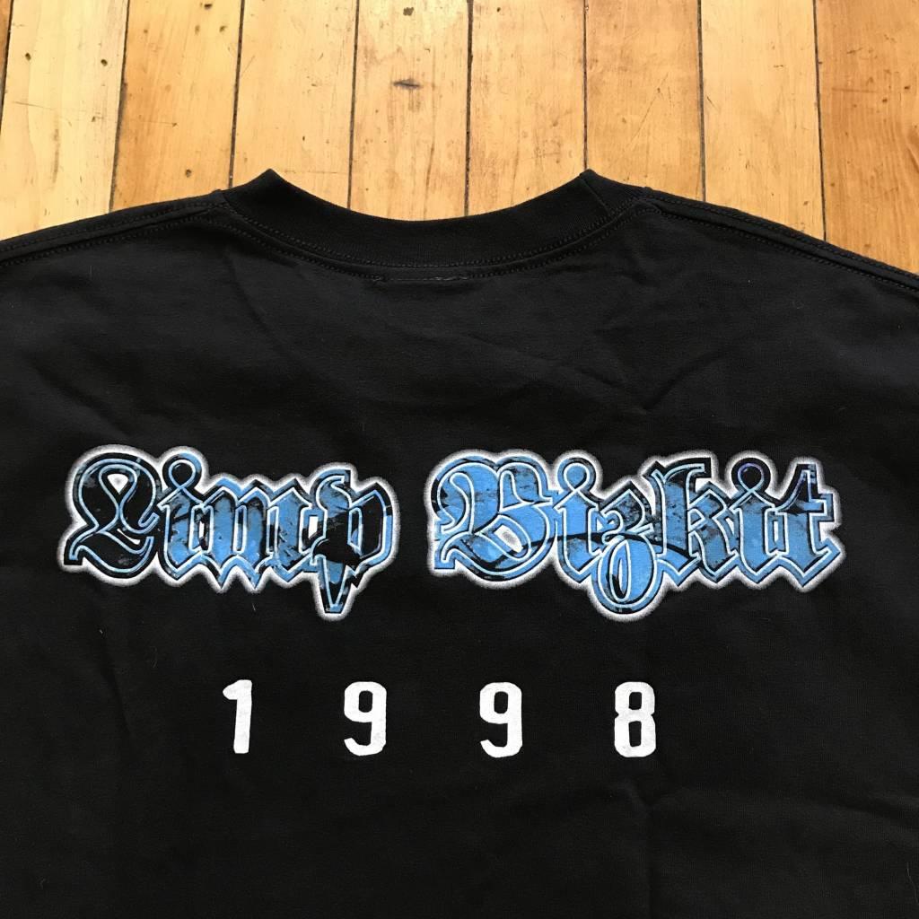 2ND BASE VINTAGE 1998 Limp Bizkit Group Photo T-Shirt XL