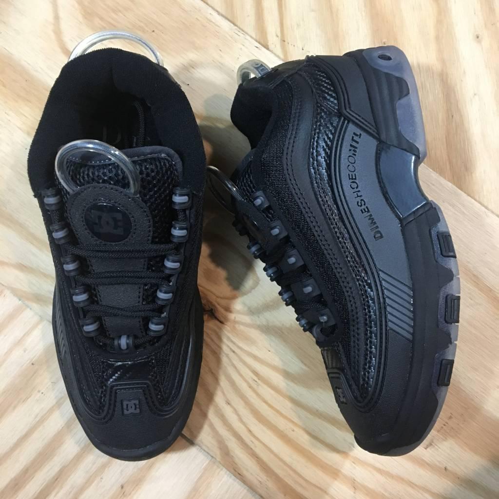 DC SKATE SHOE CO. Dime X DC Legacy Shoe Black / Grey