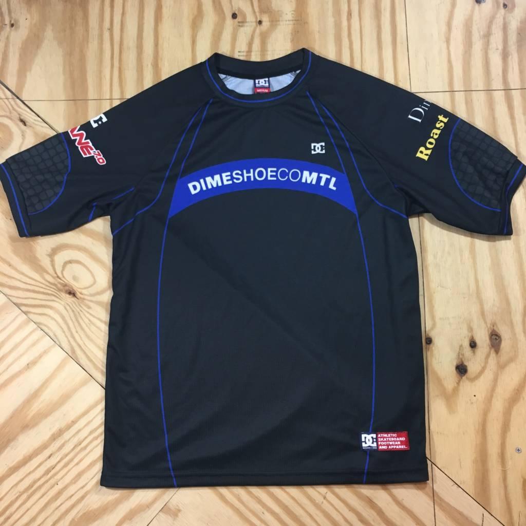 DC SKATE SHOE CO. Dime x DC Triton 17 Jersey Black