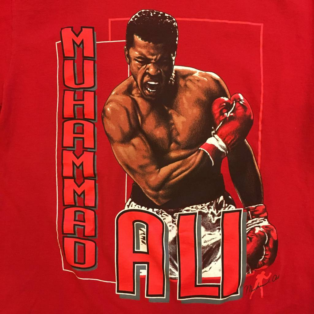 2ND BASE VINTAGE Muhammad Ali Greatest Of All Time T-Shirt MD