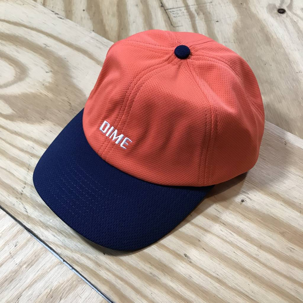 DIME Dime Mesh Snapback Hat Coral / Navy