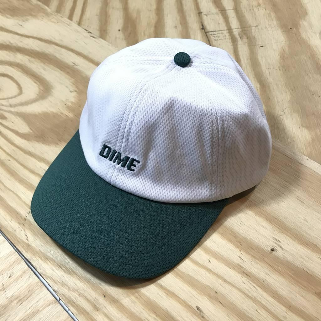 DIME Dime Mesh Snapback Hat White / Green