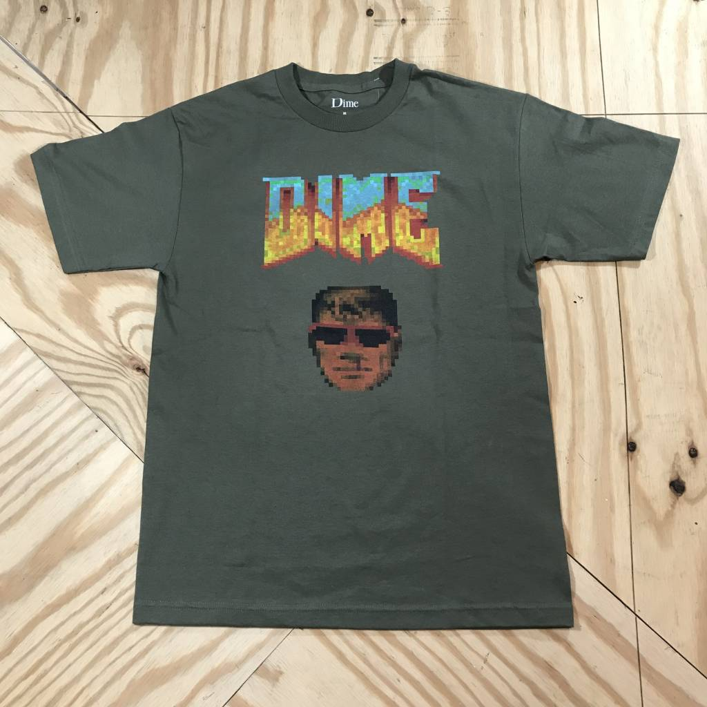 DIME Dime Guy T-Shirt Military Green