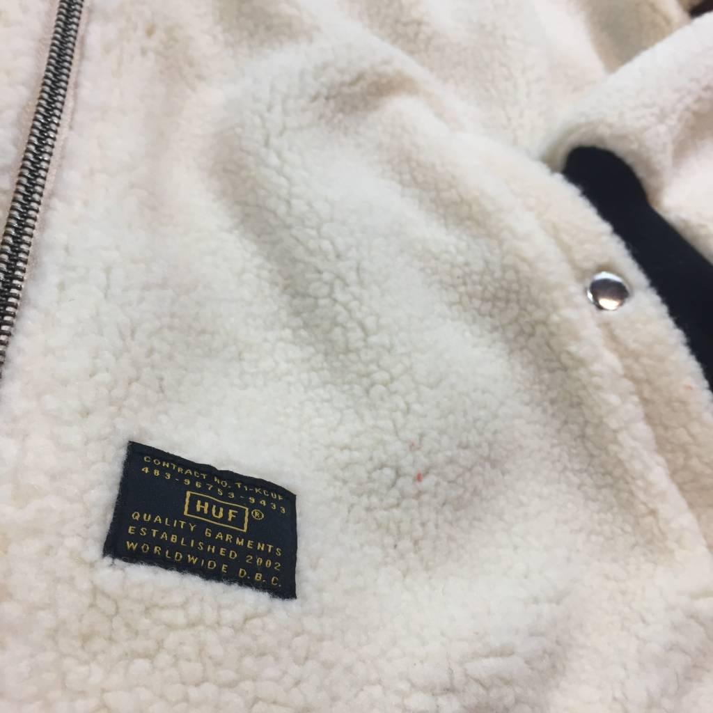 HUF Sherpa Bomber Jacket Natural Tan