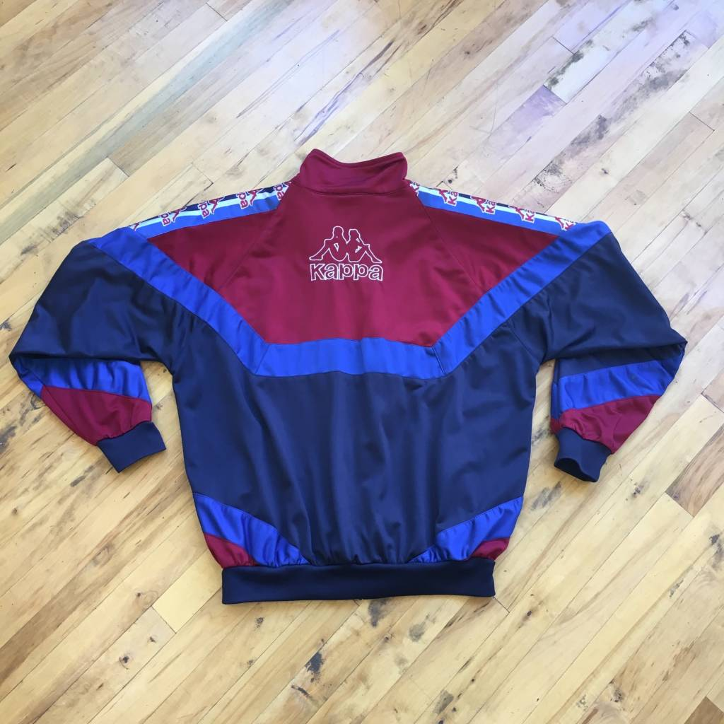 2ND BASE VINTAGE Kappa Juventus Paneled Warm Up Jacket XL