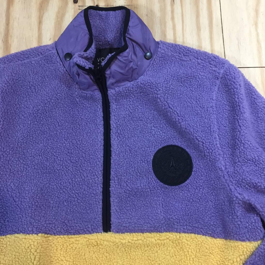 10 DEEP Out Of Bounds Storm Fleece Jacket Purple / Yellow