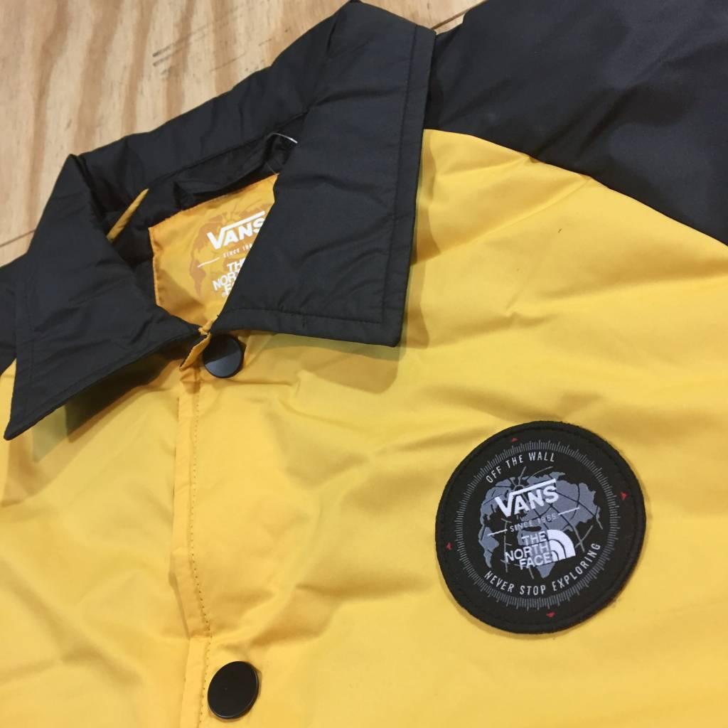VANS Vans X TNF Torrey Coach Jacket Black / Yellow