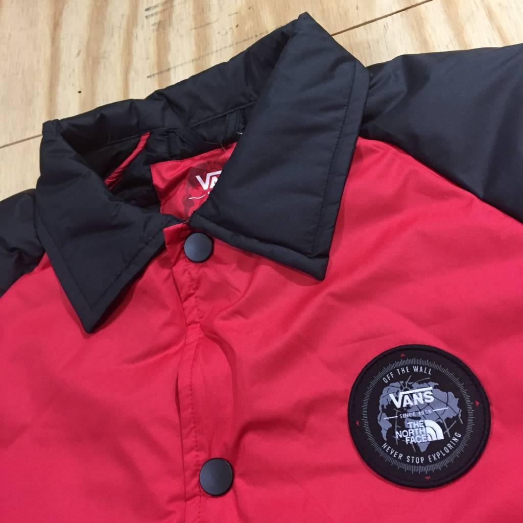 VANS Vans X TNF Torrey Coach Jacket Red