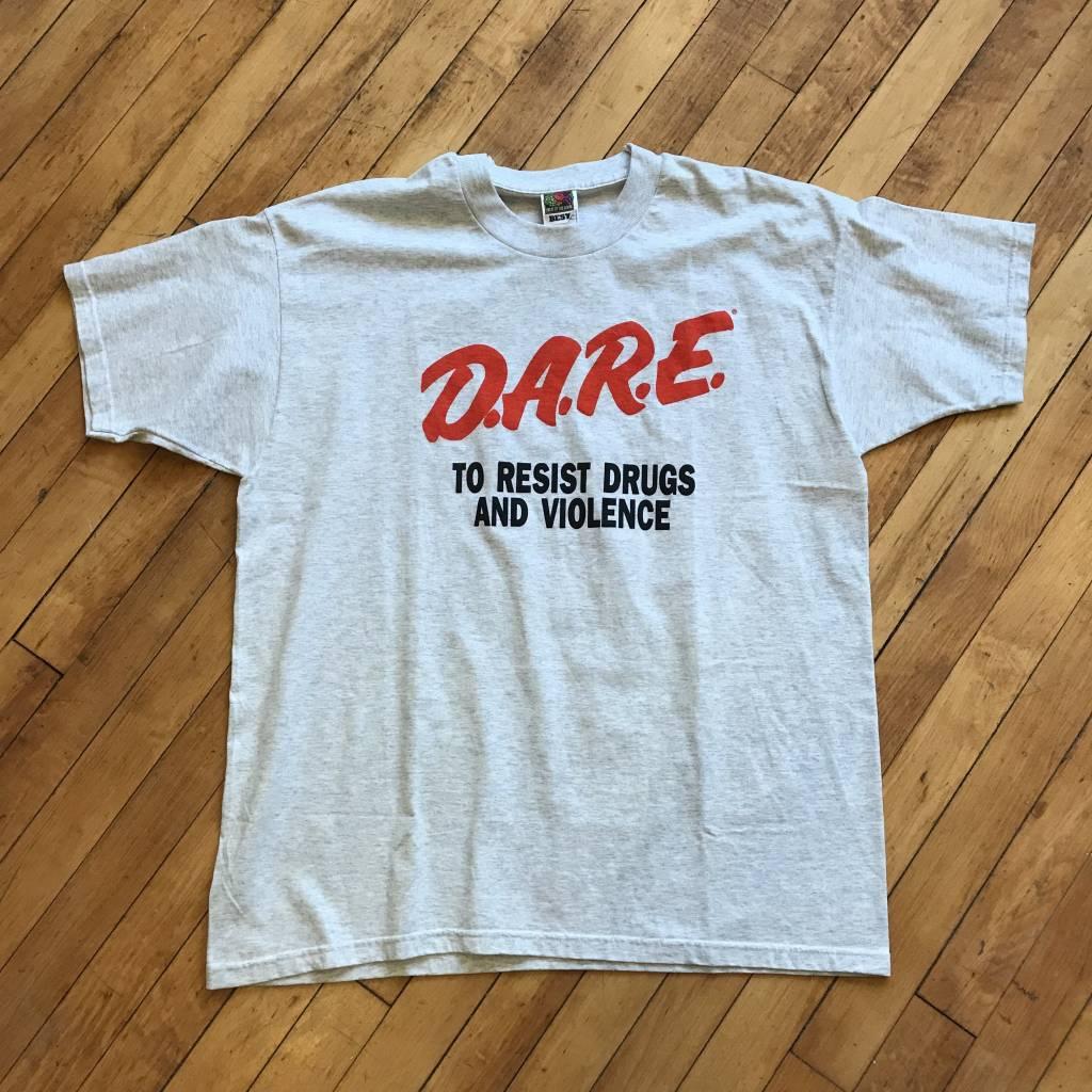 2ND BASE VINTAGE Classic D.A.R.E T-Shirt XL