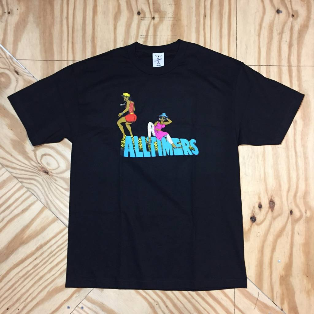 ALLTIMERS Pon Di T-Shirt Black