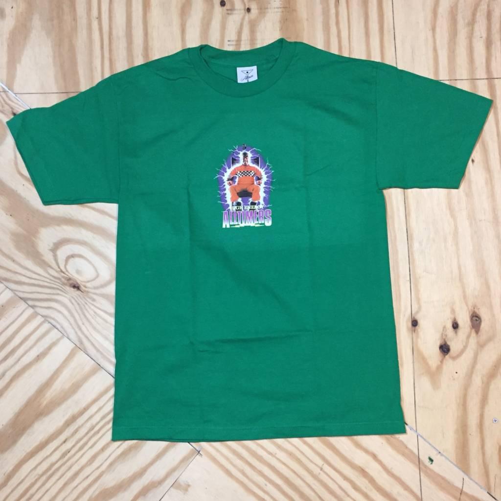 ALLTIMERS Energy T-Shirt Green